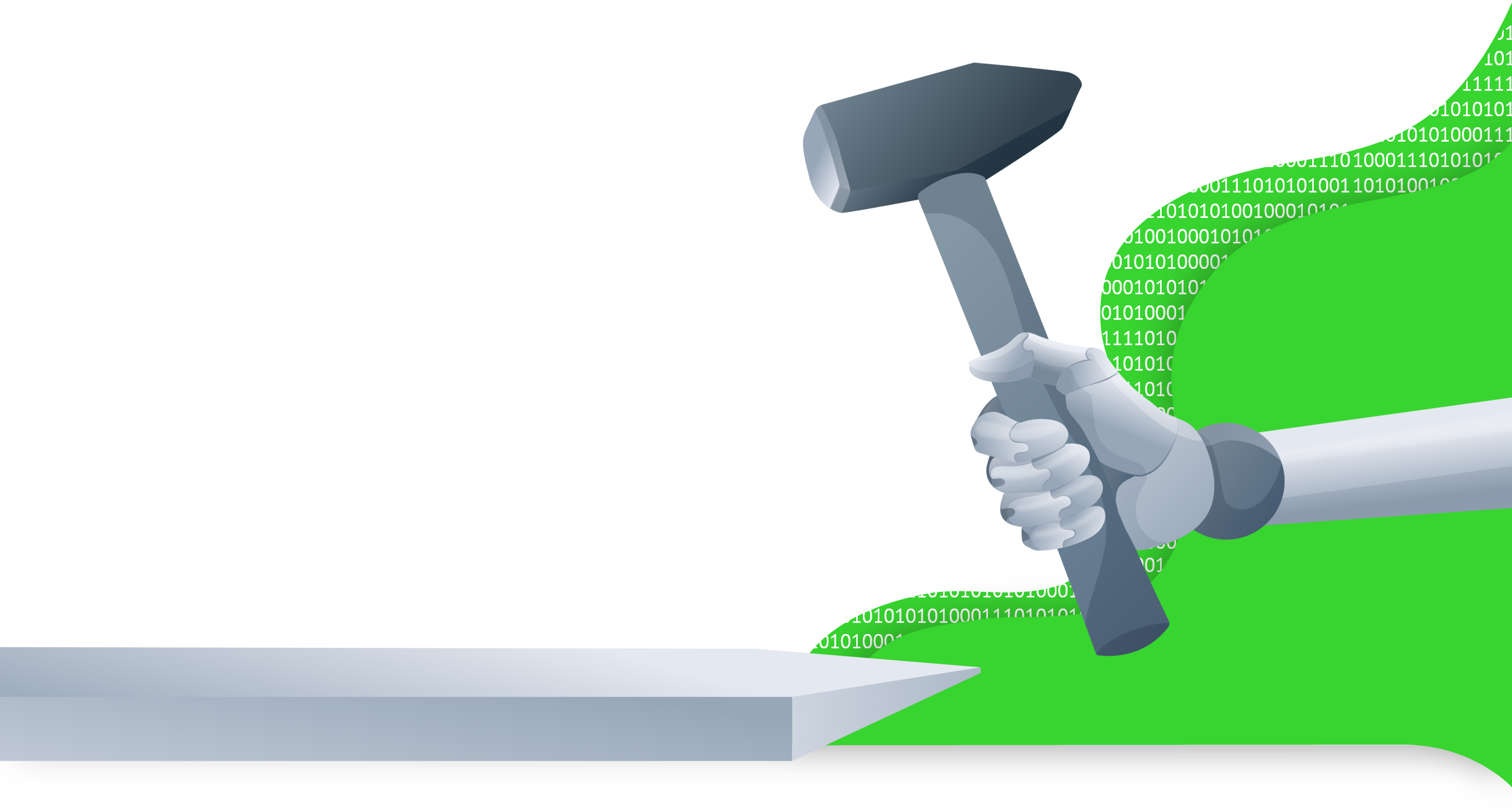 Bild Digitaler Hammer